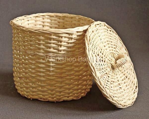Плетеные коробки для хранения вещей купить - 5908